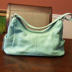 New Kenneth Cole Reaction Leather Hobo Bag Purse